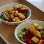 fruit salad; healthy breakfast