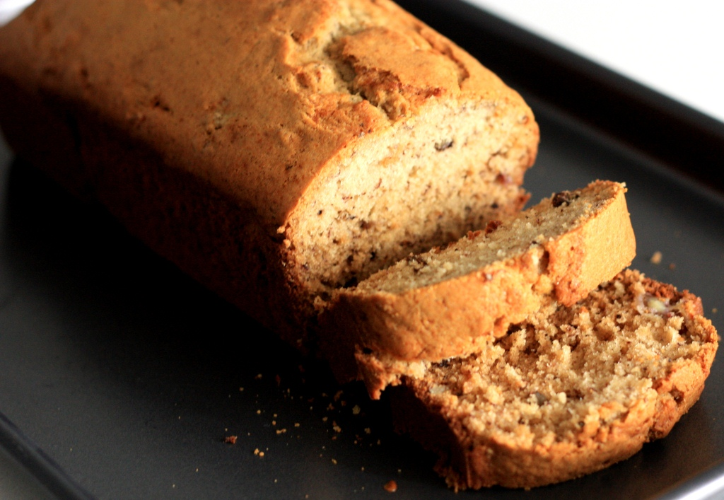 winter spiced banana bread