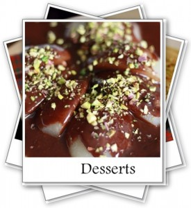 Recipe index - Desserts - My Weekend Kitchen