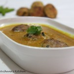 winter recipe; Archana Doshi Sweet Potato Kofta