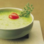 Tarla Dalal's - Fresh Green Pea Soup