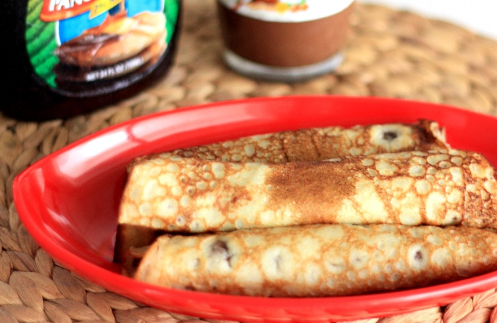 Nutella pancakes, Nutella crepes, crepes recipe, sweet crepes, breakfast