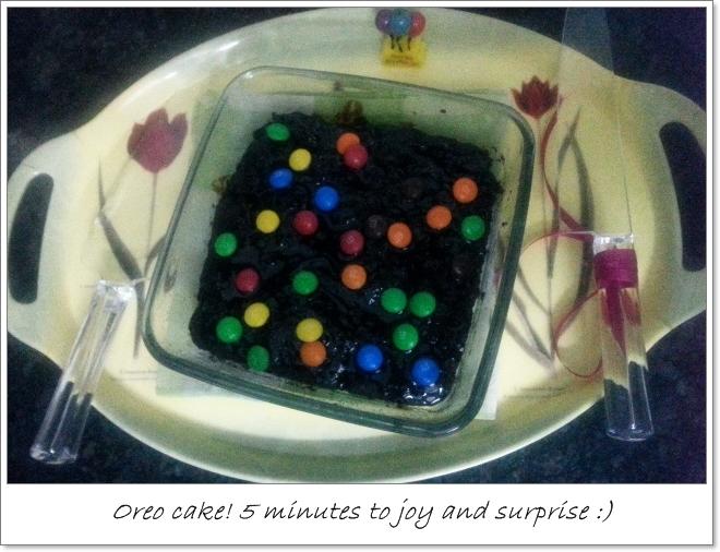 Oreo cake in 10 minutes recipe